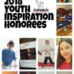 Congratulations to the 2018 Youth Inspiration Honorees