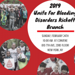 2019 Unite for Bleeding Disorders Walk Kickoff Brunch