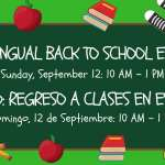 Bilingual Back to School Event